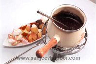 Chocolate Nut Fondue