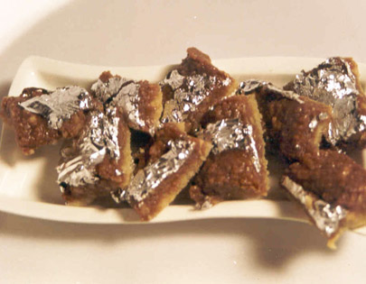 Chocolate Walnut Burfi