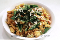 Chunky Pasta, Vegetable And Herb Stew