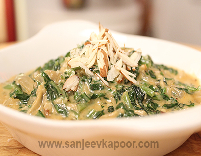 Coconut Cream Spinach