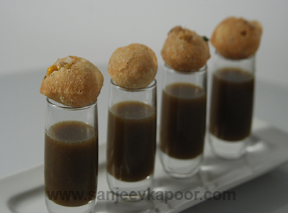 Corn Gappe With Juice
