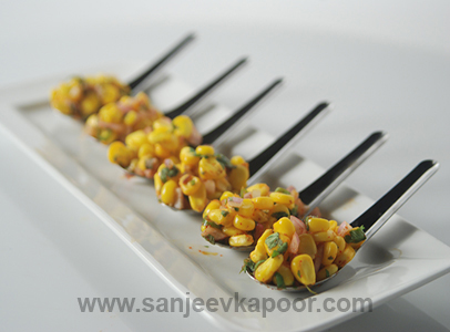 Corn Salad Indian Style