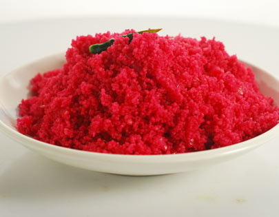 Couscous with Beetroot