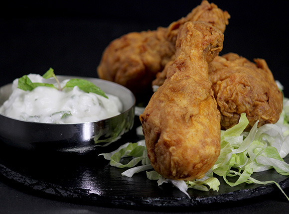 Crunchy Indian Fried Chicken