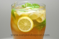Cucumber, Lemon and Mint Ice Tea