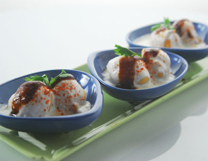 How to make dahi wada recipe by masterchef sanjeev kapoor for more recipes related to dahi wada checkout stuffed dahiwadas baked kachori medu vada chaat you can also find more snacks and starters recipes like forumfinder Choice Image
