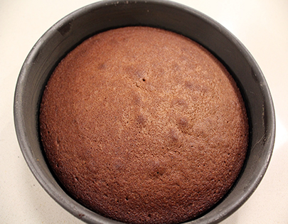 Dark chocolate sponge non vegetarian recipe by master chef for Chocolate sponge ingredients
