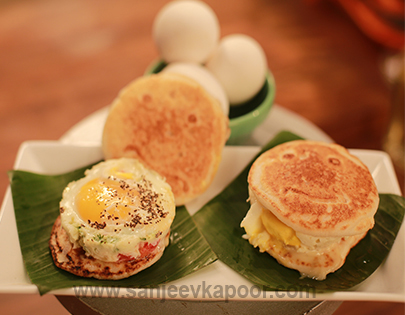 Dosa Egg Sandwich
