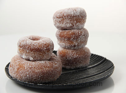How to make doughnuts recipe by masterchef sanjeev kapoor for more recipes related to doughnuts checkout microwave chocolate cake chandrakala very low fat brownies farm house fruit cake forumfinder Image collections