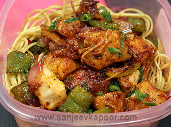 Dry Chilli Chicken