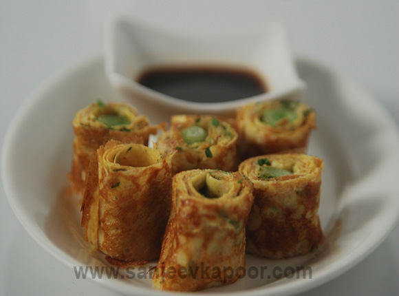 How to make egg roll recipe by masterchef sanjeev kapoor forumfinder Images