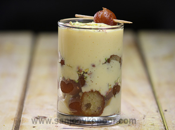 how to make mini gulab jamun