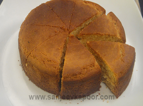 Eggless Orange Cake Recipe By Sanjeev Kapoor