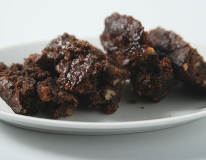 Eggless Chocolate Brownies