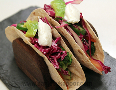Exotic Vegetable Soft Tacos