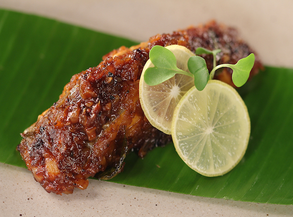 FISH FRY IN BANANA LEAF - skk