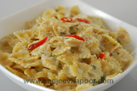 Farfalle In Lemon Cream Sauce