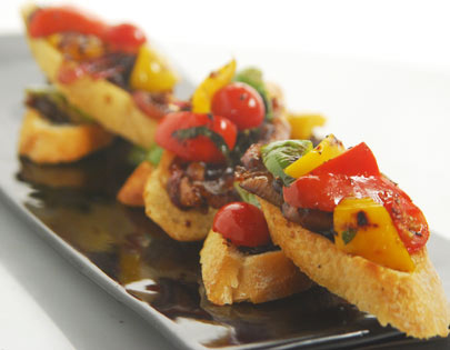 Fig Chutney Bruschetta