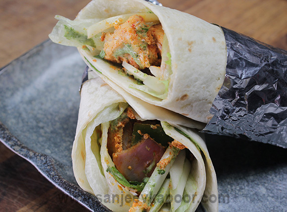 Fish Tikka Wrap