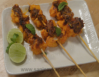 Fish and Mango Kabab