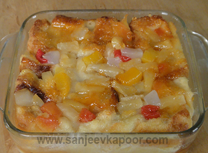 Fruit Bread Pudding