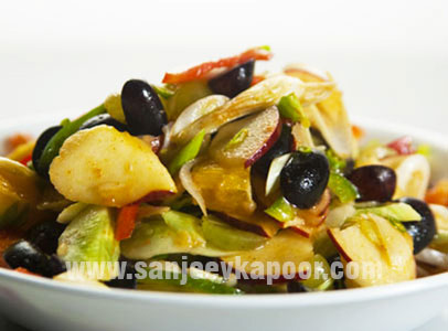 Fruit And Capsicum Kachumber