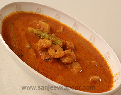GSB Prawn Curry with Drumsticks