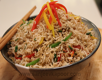 Ginger and Pepper Fried Rice