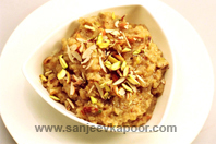 Ginger And Oatmeal Halwa
