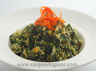 How to make goan style spinach recipe by masterchef sanjeev kapoor forumfinder Choice Image