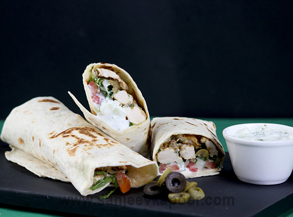 Greek Chicken Roll
