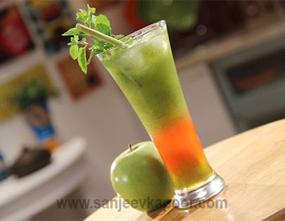 Green Apple Lemon Grass Juice