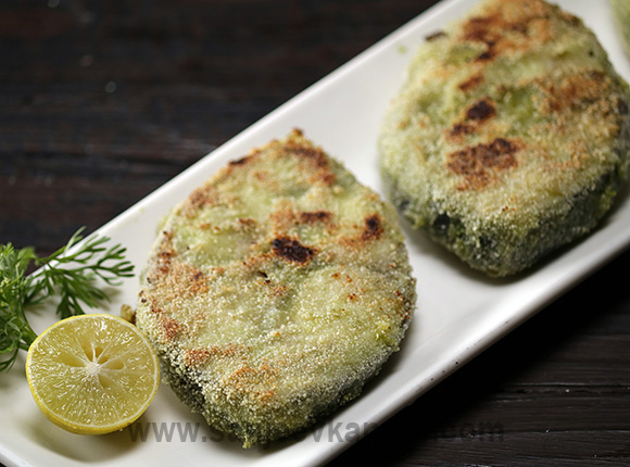 Green Masala Fish Fry