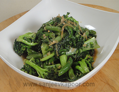 How To Make Green Vegetable Stir Fry Recipe By Masterchef