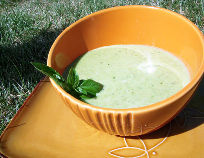 Green Apple And Peas Soup
