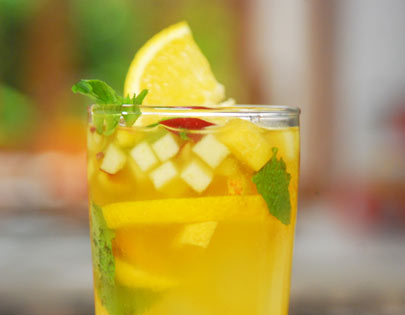 Green Fruity Iced Tea