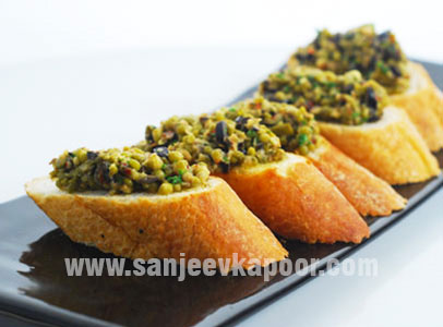 how to make green chutney for sandwich by sanjeev kapoor