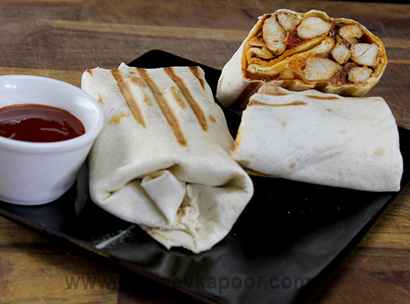 Grilled Chicken Burrito