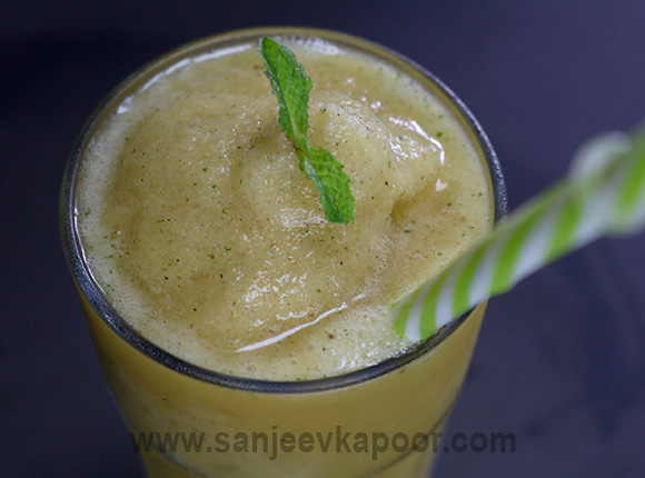 Grilled Pineapple Slush