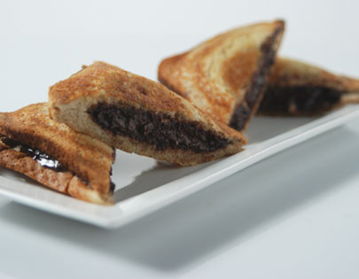 Grilled Dark Chocolate Sandwich