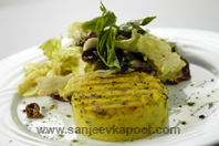 Grilled Polenta With Sundried Tomatoes And Olive S