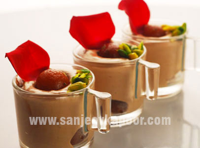 For More Recipes Related To Gulab Jamun Mousse Checkout Gulabjamun Cheesecake Baked Jamuns Deluxe Tawa Mithai Chaat