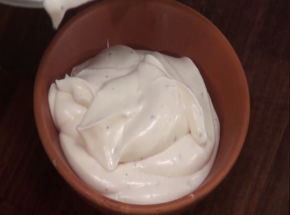 HOW TO MAKE EGGLESS MAYONNAISE - skk