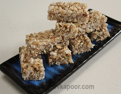 Homemade Snack Bars - Diwali Special
