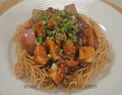 Hot Honey Paneer