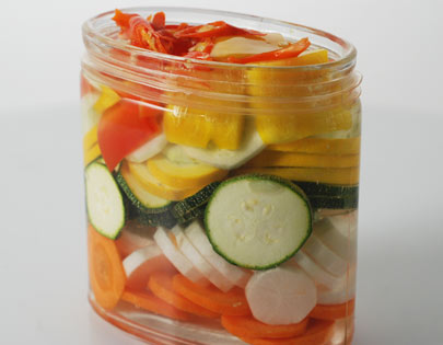 Hot Sweet Vegetable Pickle