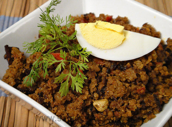 How to make hyderabadi keema recipe by masterchef sanjeev kapoor hyderabadi keema forumfinder Images
