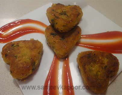 Jain Bread Cutlet