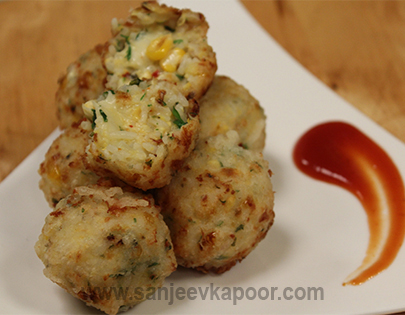 How to make jain cheesy corn rice ball recipe by masterchef sanjeev for more recipes related to jain cheesy corn rice ball checkout mexican cheesy chicken cheesy corn balls cheese and olive sandwich schezwan cheese forumfinder Images