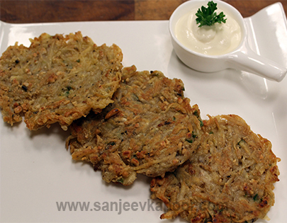 Jain Raw Banana Rosti